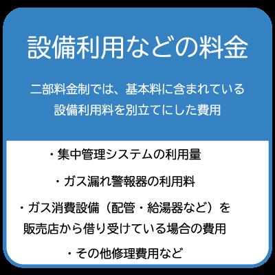 三部料金制の設備利用料金