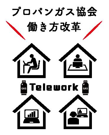 働きかた改革│テレワーク
